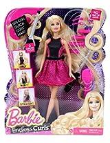 Barbie Endless Curls Doll - Pink