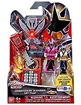 Power Rangers Super Megaforce - Samurai Legendary Ranger Key Pack, Red/Pink/Blue