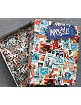 Bepuzzled - Impossibles - The Borderless Puzzle with 5 Extra Pieces - Return to Sender - 750 Pieces