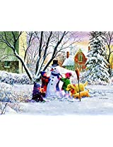 Snowman And Friends A 1000 Piece Jigsaw Puzzle By Suns Out