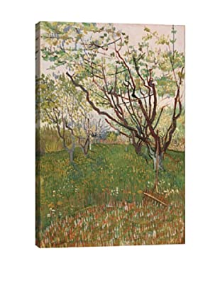 Vincent Van Gogh's The Flowering Orchard (1888) Giclée Canvas Print