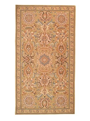 Roubini Modern Bouquet Hand Knotted Wool Rug, Multi, 5' 4