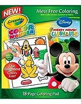 2 X Crayola Color Wonder Disney Preschool Coloring Pad