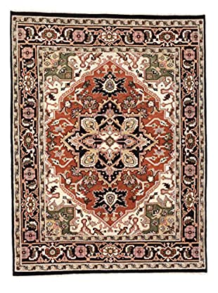 eCarpet Gallery One-of-a-Kind Hand-Knotted Royal Heriz Rug, Black/Copper, 8' x 10' 3