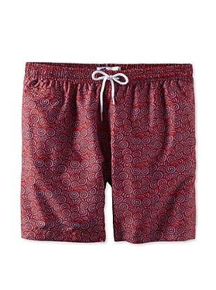 Trunks Men's San-O Swim Shorts (Swirly Poppy)