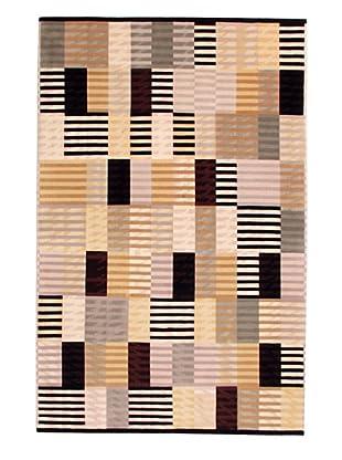 Roubini Metropolis Hand Knotted Wool Rug, Multi, 4' 8