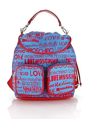Love Moschino Mochila Darnell (Azul)