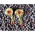 Ethnic Jewellery studs with ghungroo