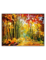 TIA Creation Romantical Love Canvas 0266 Print on Cotton Canvas 31inch x 22inch