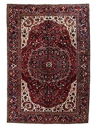 Bashian Rugs One-of-a-Kind Hand Knotted Persian Herez Rug, Rust, 8' 9