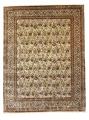 F.J. Kashanian Robert Hand-Knotted Rug, Ivory/Ivory, 9' x 11' 9