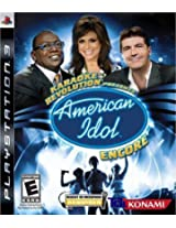 Karaoke Revolution Presents: American Idol Encore (PS3)