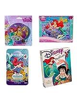Disney Princess The Little Mermaid Girls Gift Bundle Ages 4+ [4 Piece]