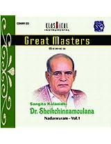 Great Masters - Shiekchinnamoulana - Vol. .1