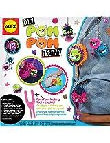 Alex Toys Craft DIY Pom Pom Frenzy, Multi Color