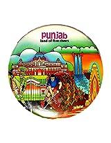 Indiavibes Designer Badge with Punjab 1 Theme