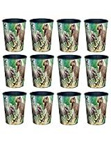 Universal Studio Jurassic World T Rex 16oz Party Plastic Cup ~Party Favor Supplies~