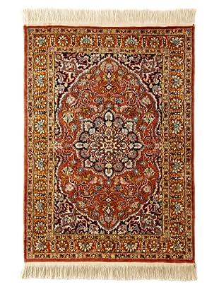Roubini Srinagar Silk Fine Rug, Multi, 2' x 3'