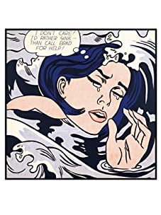 Lichtenstein-Drowning Girl, 1963
