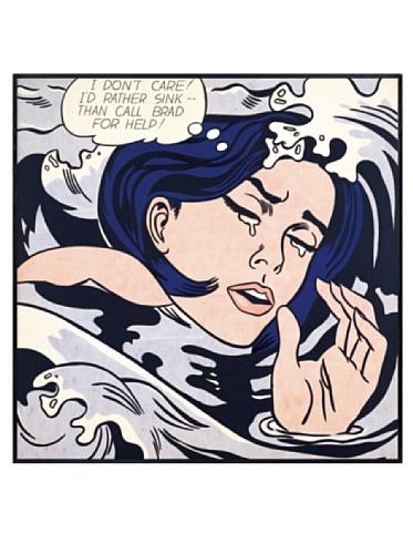 Lichtenstein - Drowning Girl, 1963, 22