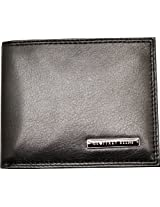 Geoffrey Beene Mens Hamilton Passcase Black Wallet