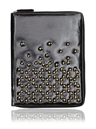 Be & D Women's Studded iPad Case (Black)