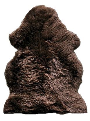 Natural New Zealand Sheepskin Rug (Chocolate)