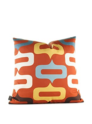 Inhabit Smile Pillow (Rust)