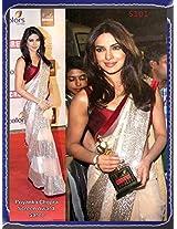 Net Sarees - Priyanka Chopra Screen Award Designer Saree