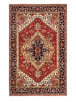 eCarpet Gallery One-of-a-Kind Hand-Knotted Serapi Heritage Rug, Dark Copper, 5' 11