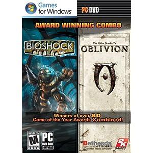 【クリックでお店のこの商品のページへ】Bioshock & The Elder Scrolls: Oblivion Bundle (輸入版): 2K Games: ソフトウェア