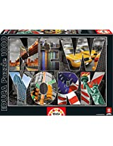 Educa Kids New York Collage Puzzle (1000-Piece)