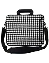"Designer Sleeves 14"" Hounds Tooth Executive Laptop Bag"