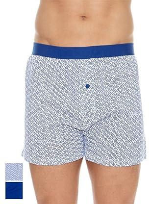 Unno Pack x 2 Boxers Algodón (Azul)
