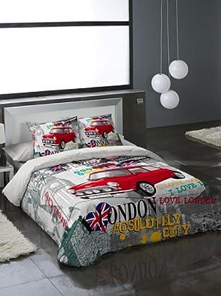 Euromoda Lencería Juego de Fundas Nórdicas Cooper (Multicolor)