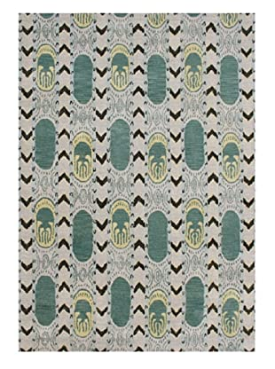 Horizon Rugs New Zealand Wool Rug (Sand/Green/Coffee Multi)
