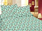 doraemon 1 single bedsheet with 2 pillow covers 100 cotton