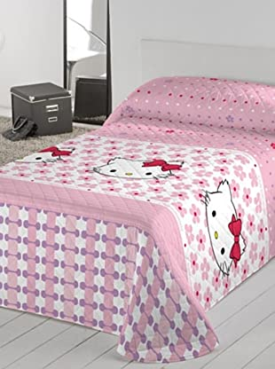 Euromoda Licencias Colcha Bouti Charmmy Kitty Miss Pink (Rosa / Rojo)