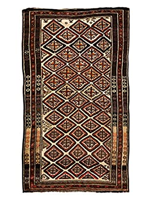 Solo Rugs Tribal One-of-a-Kind Rug, Brown, 5' 6