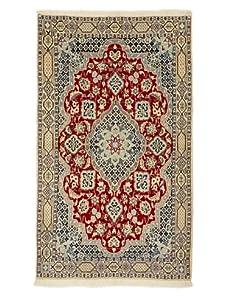 Roubini Nain Fine Rug With Silk (Multi)