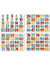 Little Genius Number Inset Puzzle 1-100, Multi Color