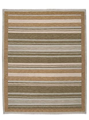 Calvin Klein Home Fielded Stripe Rug (Fern)