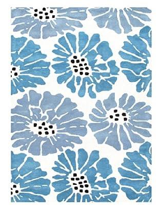 Jaipur Rugs Hand-Tufted Durable Rug (Blue/Ivory)