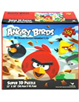 "Angry Birds 150 piece Super 3D Puzzle 12"" X 18"""