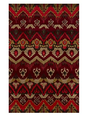 Chandra Rupec Rug (Red/Gold)