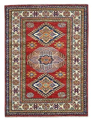 Kalaty One-of-a-Kind Kazak Rug, Red, 3' 3
