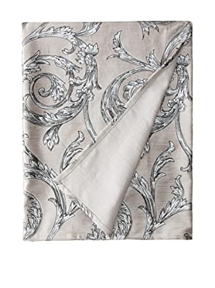 Filling Spaces Jayne Throw, Gray/Silver, 50