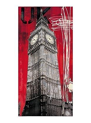 ArtopWeb Panel de Madera Taylor One British Time 100x50 cm