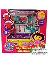 DORA COMPACT BUILT-IN KITCHEN SET with VARIOUS ACCESSORIES
