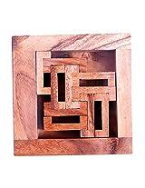 MindSapling C-Box Kids Wooden Puzzle